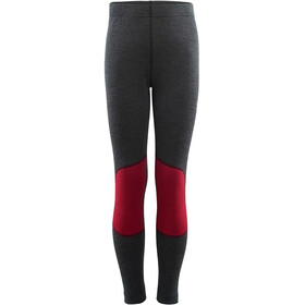 Aclima WarmWool Longs Youth, marengo/chili pepper